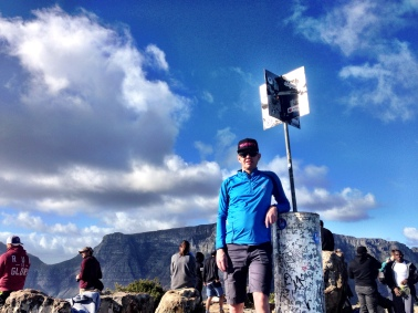 First time up Lion's Head for Wikkelspies