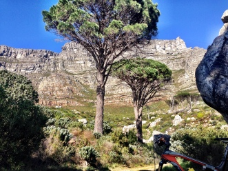 A different vantage point of Table Mountain