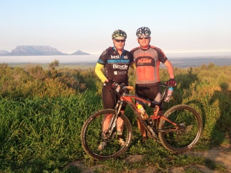 Catching up with a good friend and no better way than on the mountain bike